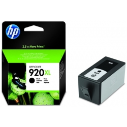 Cartus cerneala Original HP Black 920XL, compatibil OfficeJet 6000/6500/7000/7500, 1200pag (CD975AE)