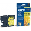 Cartus cerneala Original Brother Yellow LC1100Y compatibil MFC5895CW/DCP6690CW/MFC6490CW/6890CDW/MFC-5490CN/MFC-J615W/DCP-J715W,DCP-385C/395CN/585CW,MFC-490CW/790CW/795CW, 325 pag (LC1100Y)