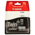 Cartus cerneala Original Canon PGI-525PGBK Negru, Twin Pack, compatibil Canon Pixma IP4850, MG5150/5250/6150/8150, 2 x 19 ml (BS4529B006AA)
