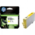 Cartus cerneala Original HP Yellow 920XL, compatibil OfficeJet 6000/6500/7000/7500, 700pag (CD974AE)